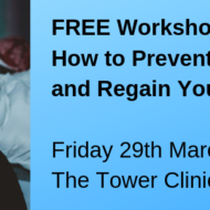 FREE Workshop How to Prevent Burnout and Regain Your life