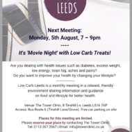 Low Carb Leeds – 5th August