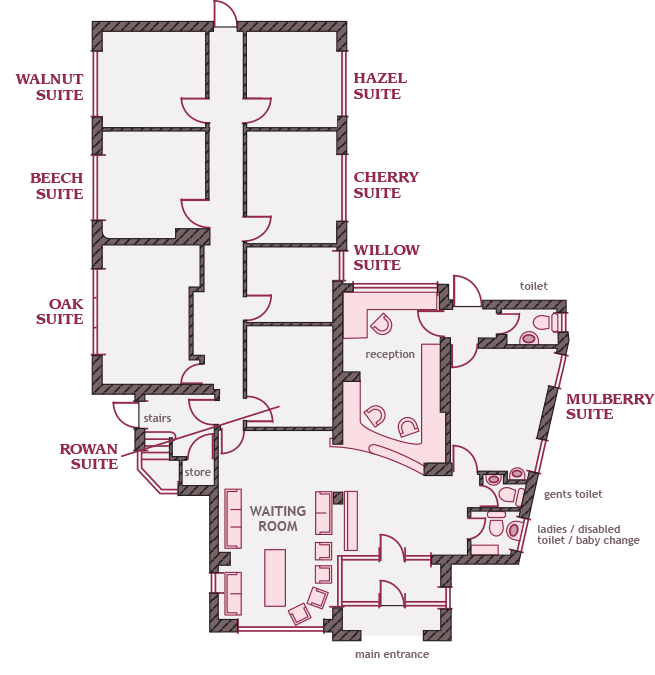 Tower Clinic Floorplans